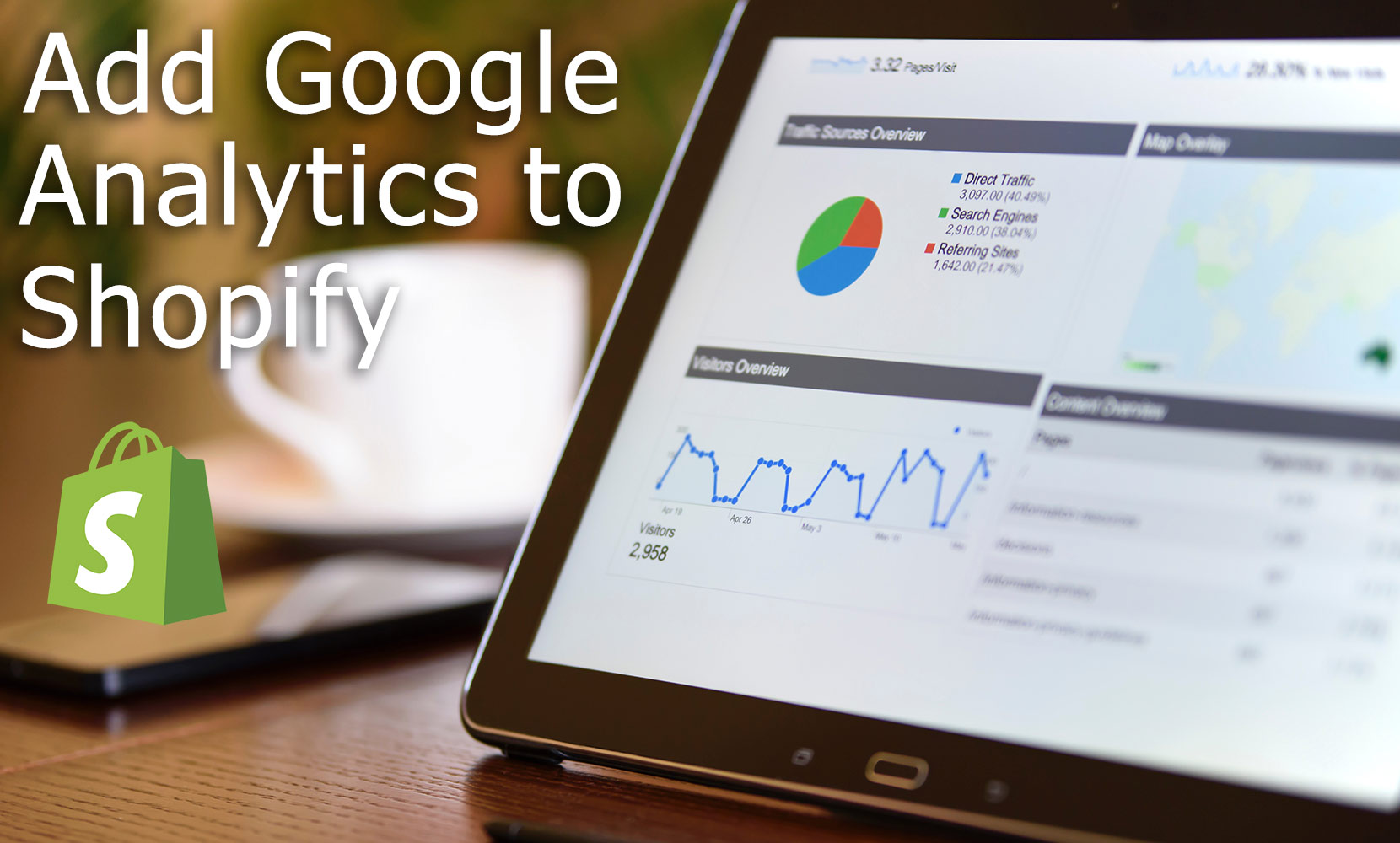 How to connect Google Analytics to Shopify